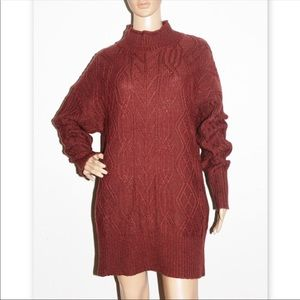 NWT Pendleton FUNNEL NECK Wool Cashmere PULLOVER
